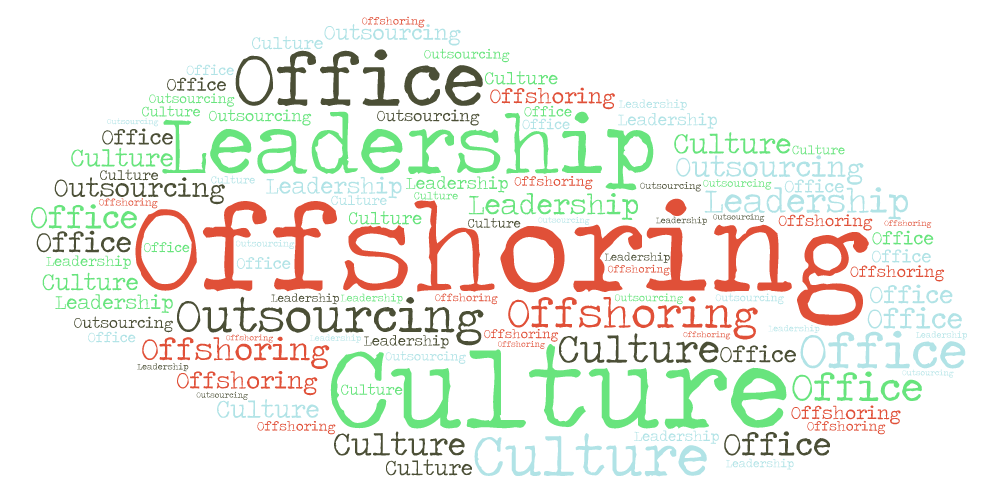 Offshoring, outsourcing and... culture